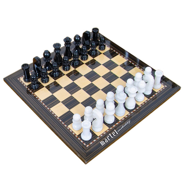 jeux d 39 checs en marbre objet promotionnel promopop. Black Bedroom Furniture Sets. Home Design Ideas