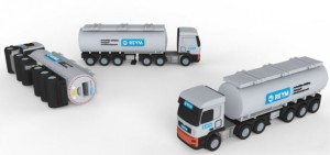 3D power bank charger _TRUCK